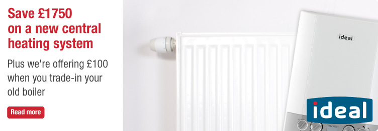 Save £1750 On A New Central Heating System